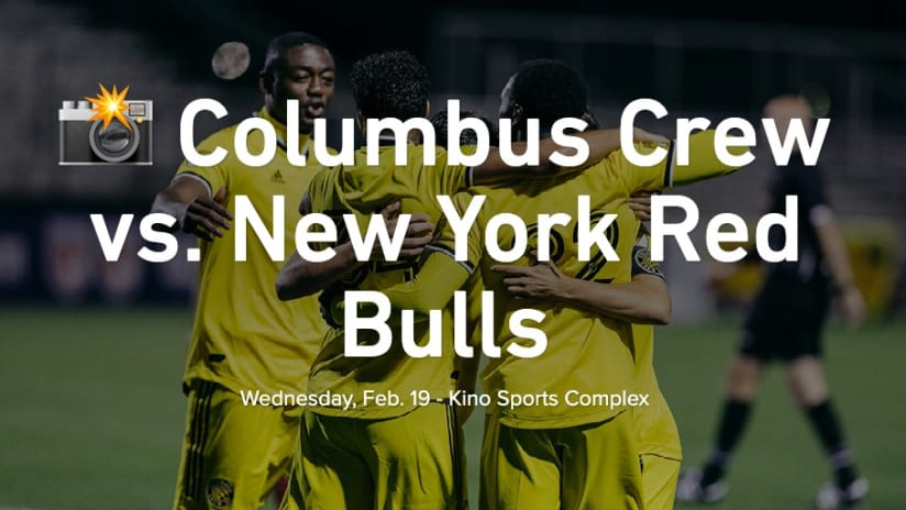 PHOTOS   Crew vs. Red Bulls in Sun Cup preseason match - Columbus Crew vs. New York Red Bulls