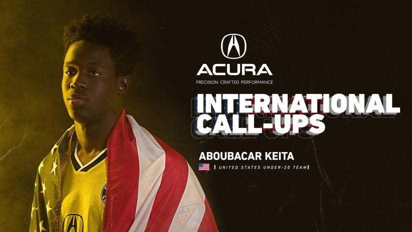 Aboubacar Keita - Call-Up Graphic - 1920x1080 - 2019