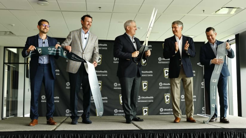 OHPC | Scenes from the ribbon-cutting ceremony for the OhioHealth Performance Center