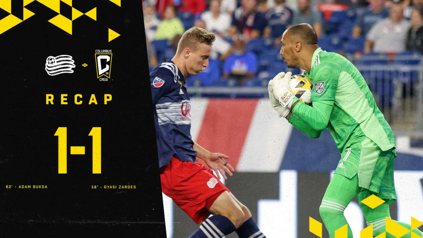 RECAP | Clinical Zardes finish, key saves from Room help Crew earn road draw at Supporters' Shield-leading New England Revolution