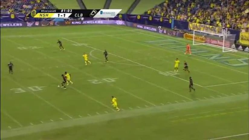 SAVE | Eloy Room preserves the draw with a huge diving save