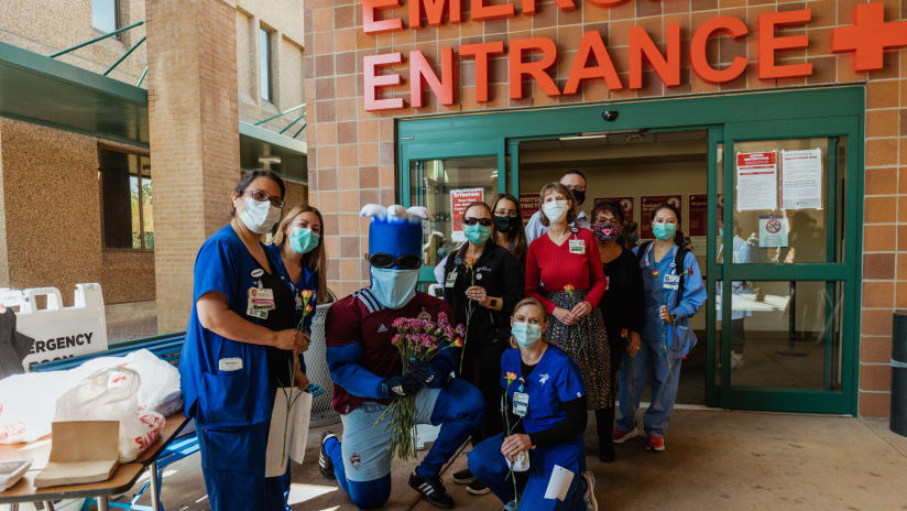 News & Notes: Rapids Celebrate Teachers & Healthcare Workers All Week Long