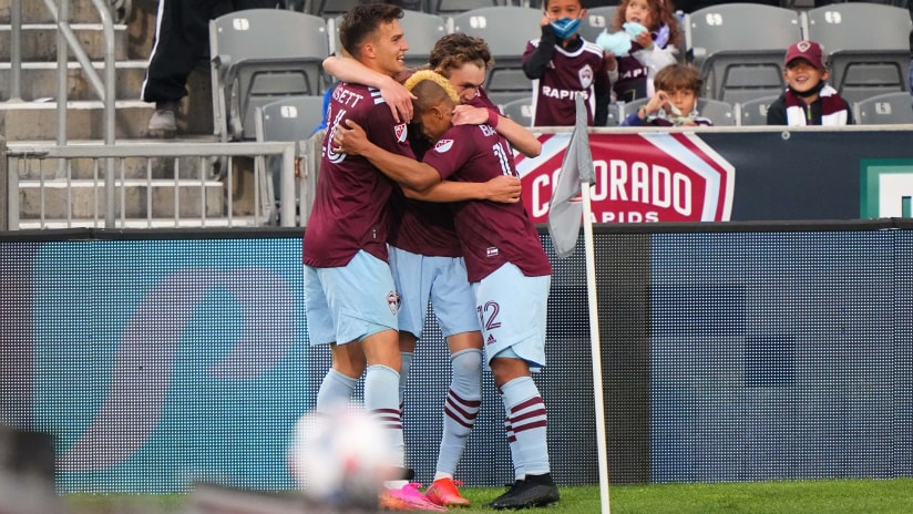 Through the First Seven Games, the Rapids Offense is Firing on All Cylinders