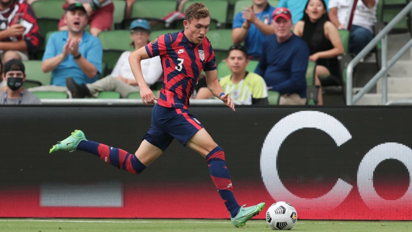 Vines, Acosta, Lewis and Rest of USMNT are Finals Bound After Defeating Qatar