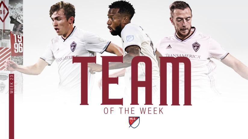 MLS Team of the Week presented by Audi | Vines, Wilson and Acosta | Week 23 -