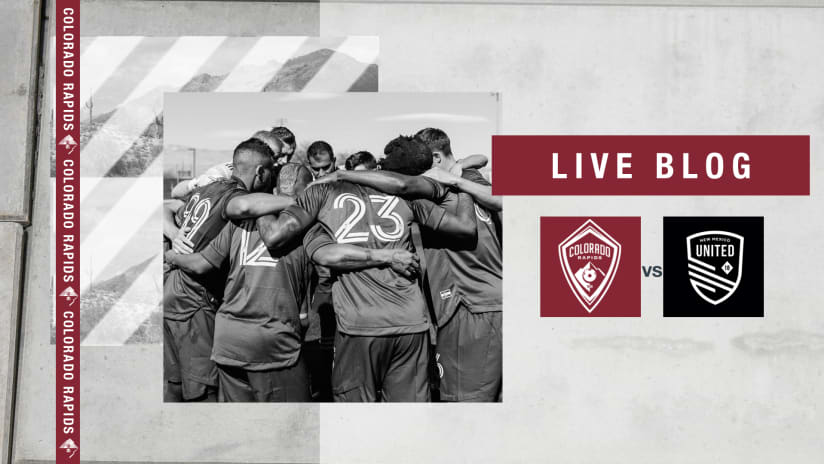 Play by Play: Rapids 1-0 Preseason Win Over New Mexico United  -