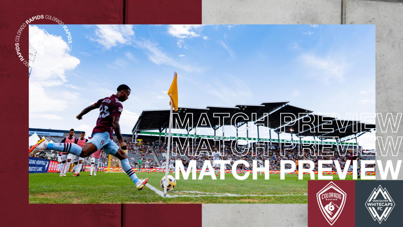 Preview: Rapids Begin Three-Game Homestand on Sunday Against Vancouver