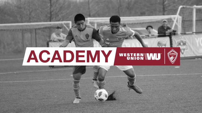 Development Academy Update   March 25, 2019 -