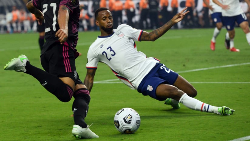 Kellyn Acosta Named to US World Cup Qualifying Roster