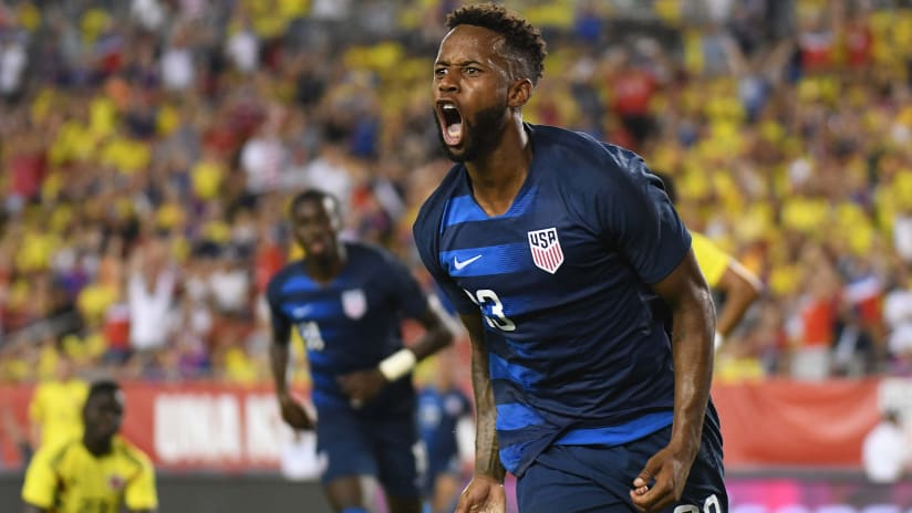 A Dominant Force: A Look Inside the Numbers of Kellyn Acosta with the USMNT