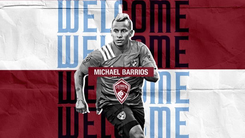 Colorado Rapids Acquire Michael Barrios from FC Dallas -