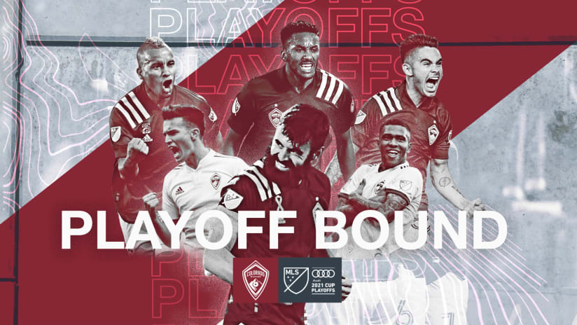Playoff Bound: Rapids Secure Spot in Audi 2021 MLS Cup Playoffs for Second Season in a Row