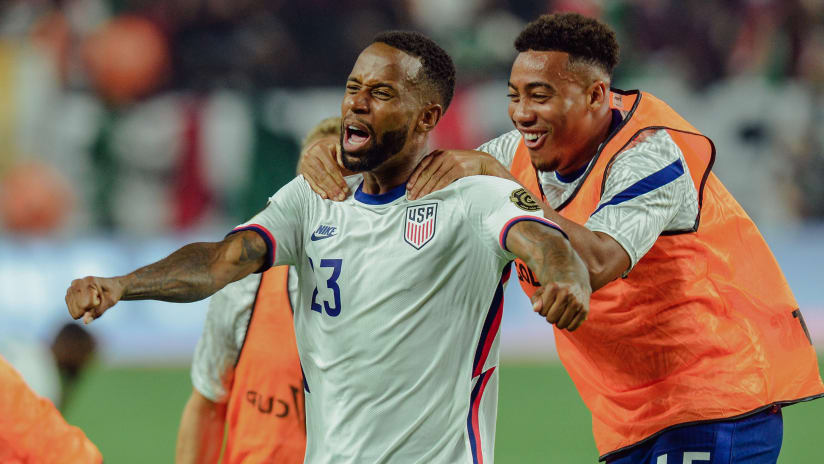Acosta's Game-Winning Assist Leads USMNT to Concacaf Gold Cup Title