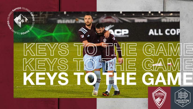 Connor's Keys: Rapids Prepare to Welcome New-Look Dynamo to Colorado