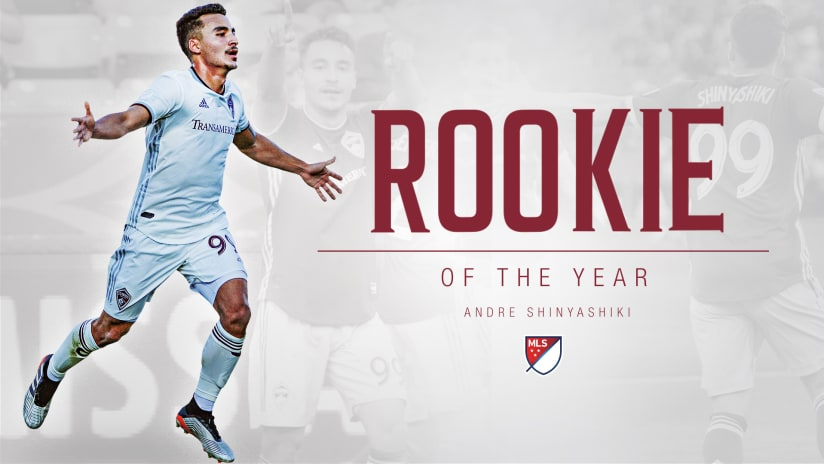 Colorado Rapids' Andre Shinyashiki named 2019 AT&T MLS Rookie of the Year -