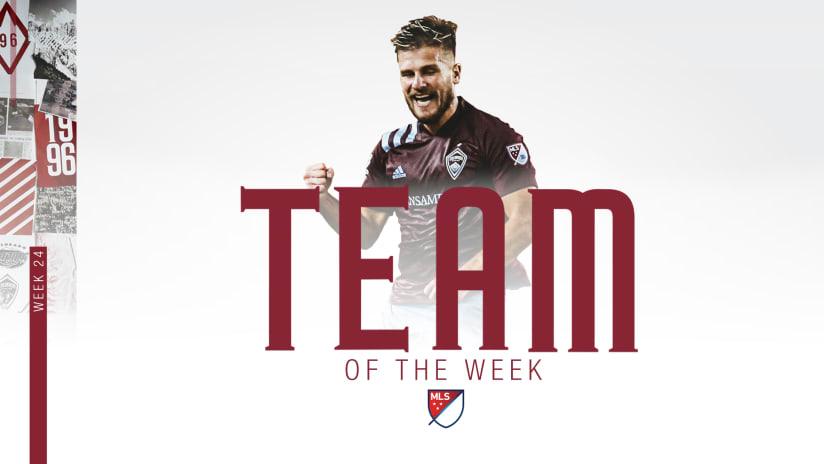 MLS Team of the Week presented by Audi | Diego Rubio | Week 24 -