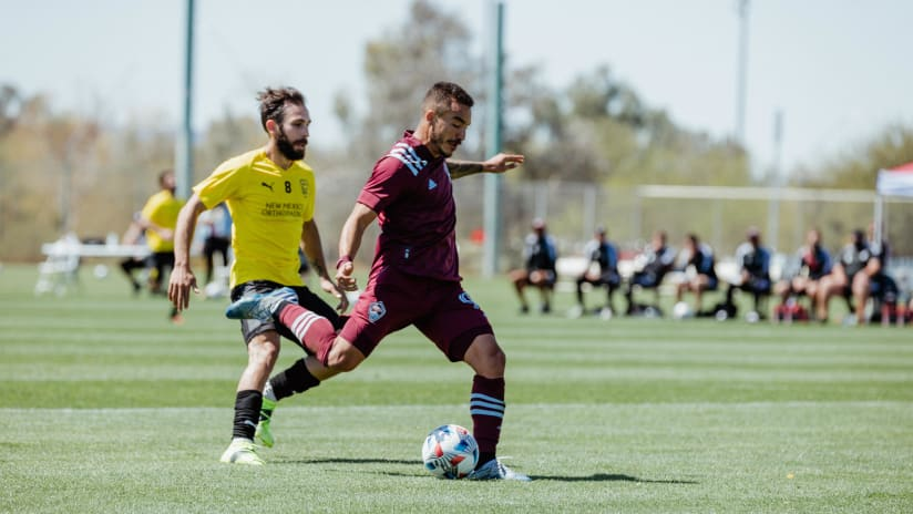 Recap: Shinyashiki's Goal Leads Rapids to Preseason Win Over New Mexico United