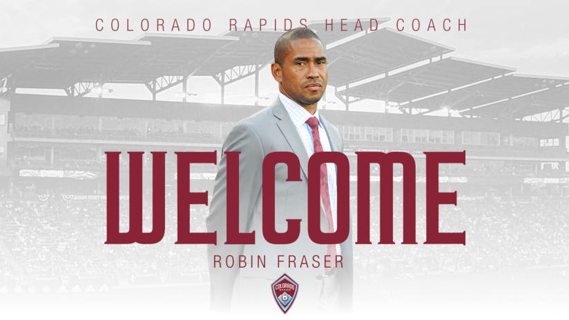 Colorado Rapids appoint Robin Fraser as head coach  -