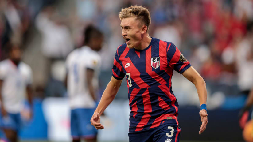 Homegrown Sam Vines Scores First USMNT Goal in 1-0 Victory Over Haiti