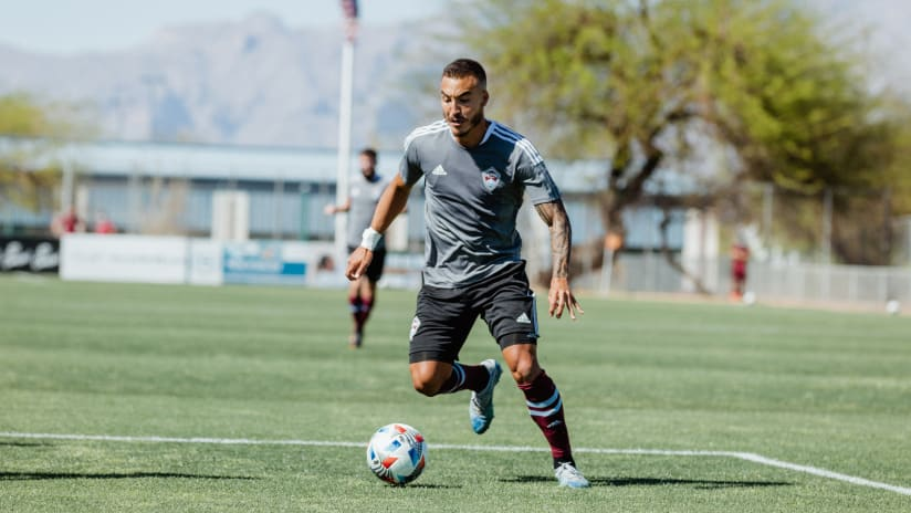 Rapids Forward Andre Shinyashiki Embraces Evolving Role in the Locker Room