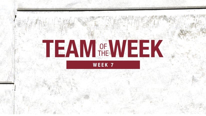 Week 7: Rosenberry, Bassett Named to MLS Team of the Week