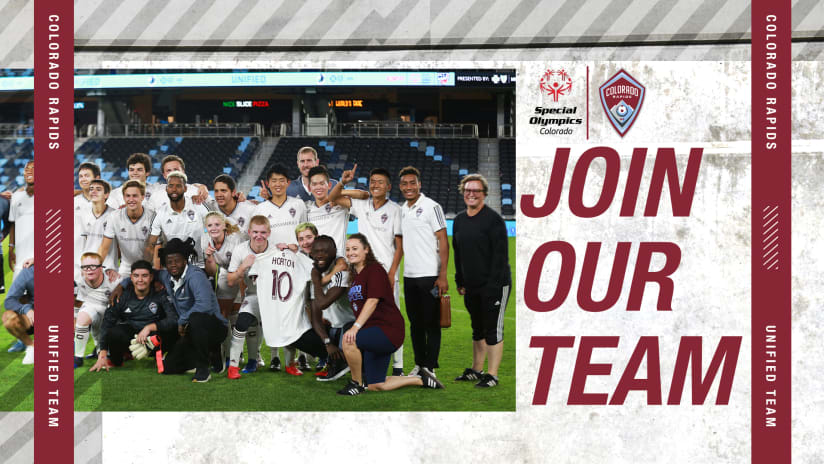 Tryout This Saturday for the Colorado Rapids Unified Team