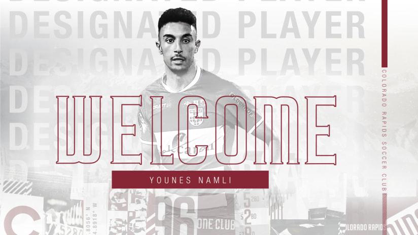 Colorado Rapids acquire attacking midfielder Younes Namli as Designated Player  -