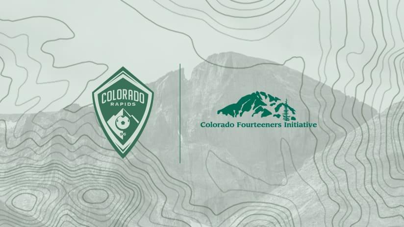 Rapids Partner with Colorado Fourteeners Initiative on Class 5 Kit -