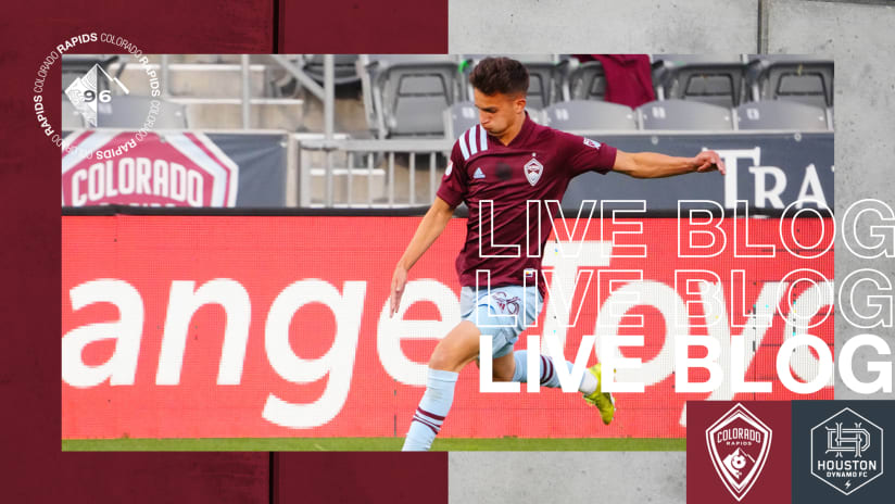 Play-by-Play: Rapids Beat Houston 3-1 for Third-Straight Win