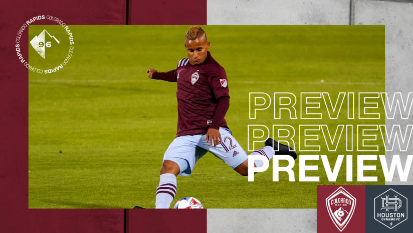 Rapids Looking for Third Straight Win on Saturday vs. Houston