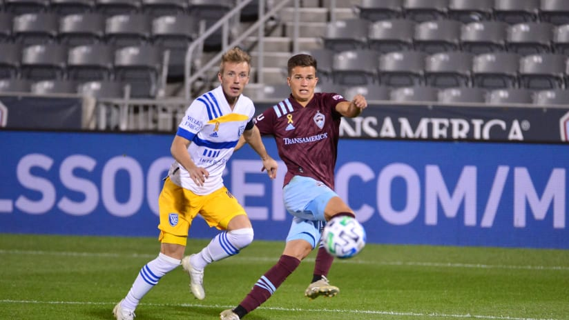 MLS: Homegrown Cole Bassett Leading Charge for Colorado Rapids