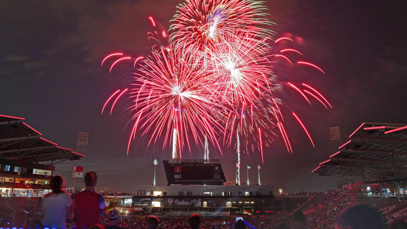 Colorado's Largest Public Fireworks Display Returns to DICK'S Sporting Goods Park