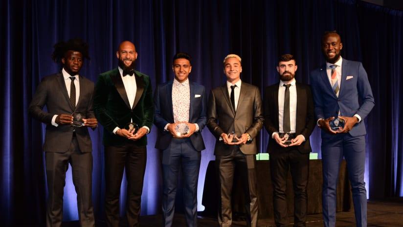 2019 Colorado Rapids Soccer Club End of Season Awards Gala Winners -