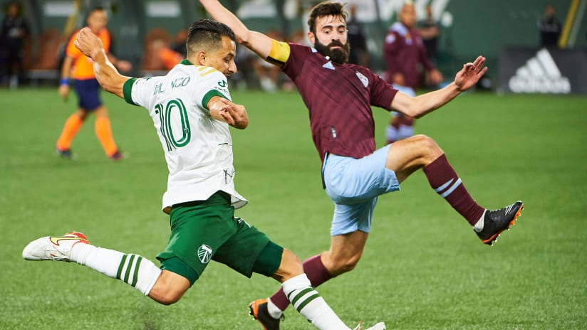 Rapids Draw Portland 2-2 in Back-and-Forth Contest