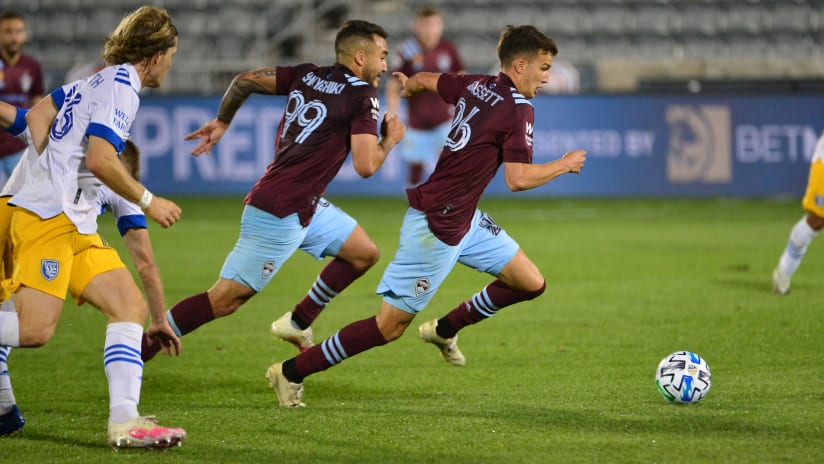 Preview: Rapids Host San Jose Earthquakes on Military Appreciation Night