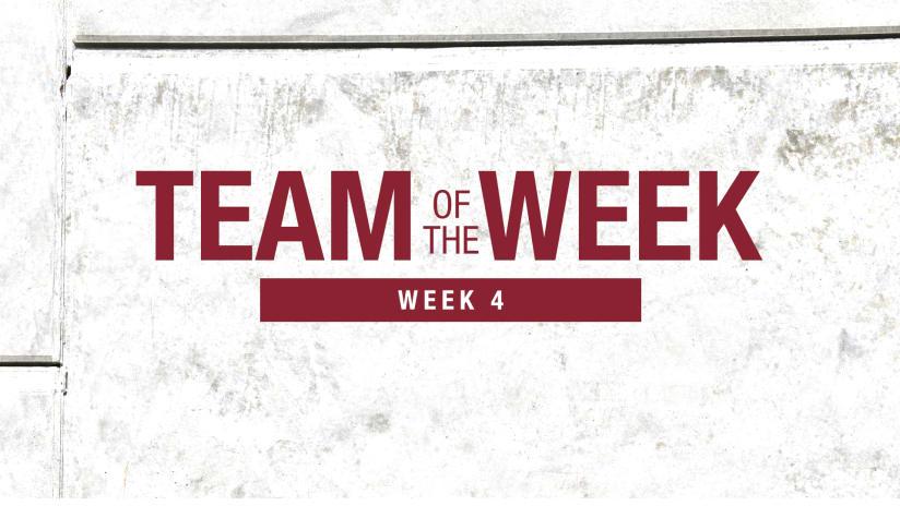 Week 4: Bassett & Wilson Named to MLS Team of the Week Starting XI