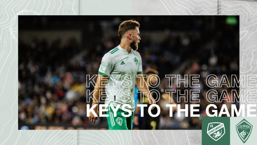 Connor's Keys: Get the Ball Wide and Keep Up the Press