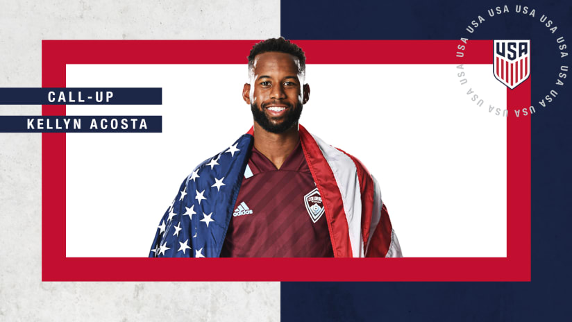 Rapids Midfielder Kellyn Acosta Among Star-Studded Squad Invited to USMNT March Camp