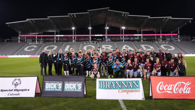 Rapids Special Olympics Unified Team Top Switchbacks 4-3