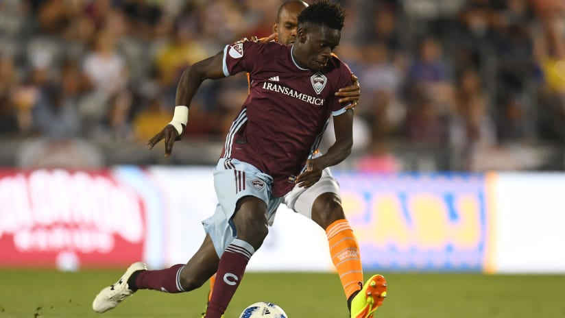 Welcome Back, Dom! Rapids Acquire Badji from Nashville