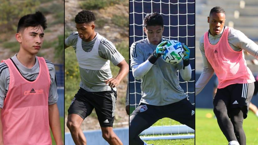 Colorado Rapids loan Anderson, Rodriguez, Jackson and Rwatubyaye to Colorado Springs Switchbacks FC -