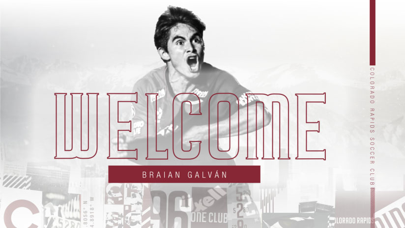 Rapids sign 19-year-old Argentinian winger Braian Galván -
