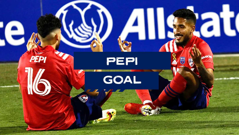 GOAL: Ricardo Pepi, FC Dallas - 50th minute