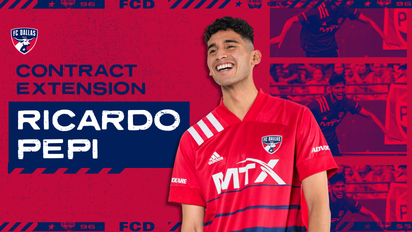FC Dallas Homegrown Ricardo Pepi Signs New Contract with FC Dallas