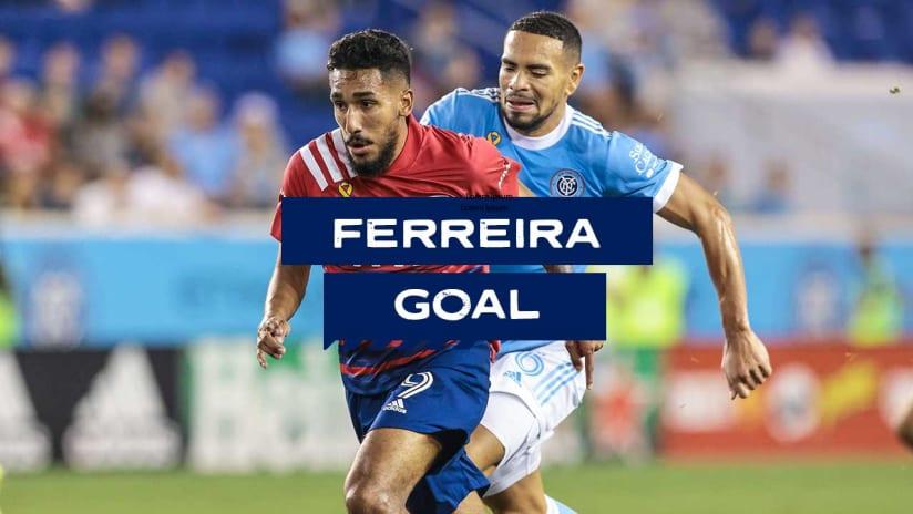 GOAL: Jesus Ferreira, FC Dallas - 63rd minute
