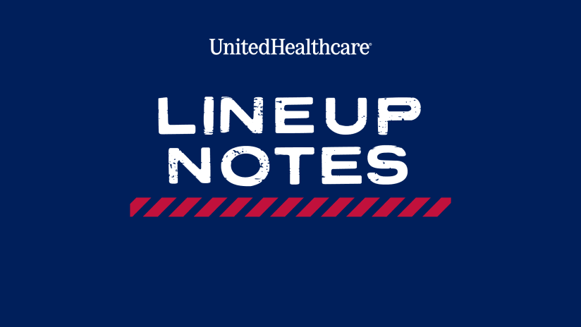 LINEUP NOTES, pres. by UnitedHealthcare: FC Dallas vs. Seattle Sounders | 8.4.21