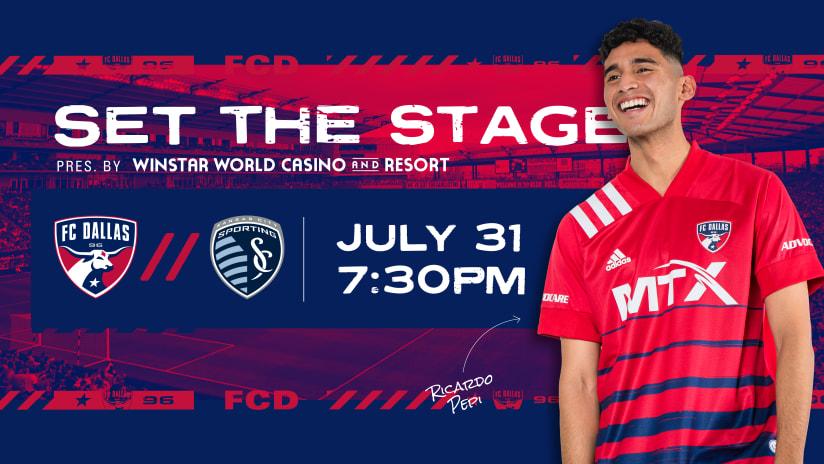 SET THE STAGE: FC Dallas vs. Sporting KC | 7.31.21