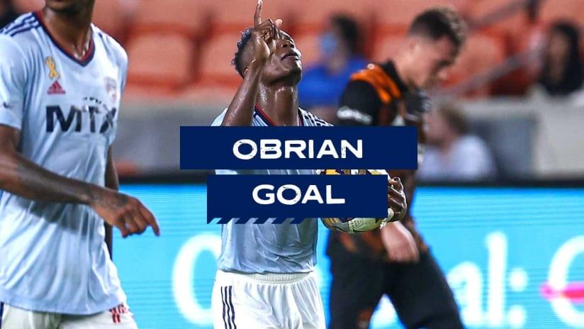 GOAL: Jáder Obrian, FC Dallas - 94th minute