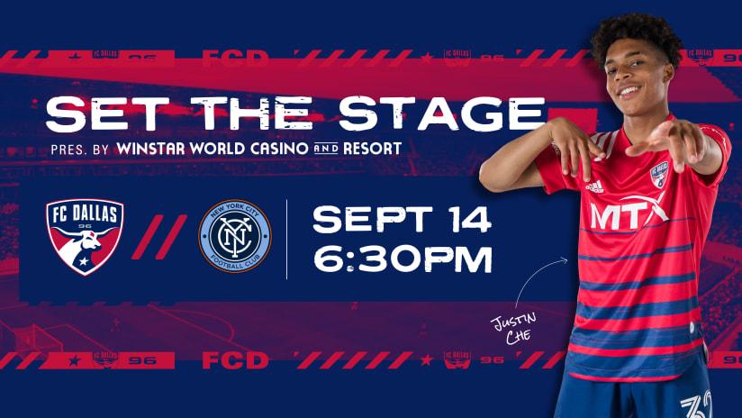 SET THE STAGE: FC Dallas vs. New York City FC | 9.14.21