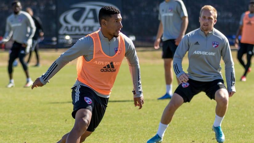 Bryan Acosta training photo DL